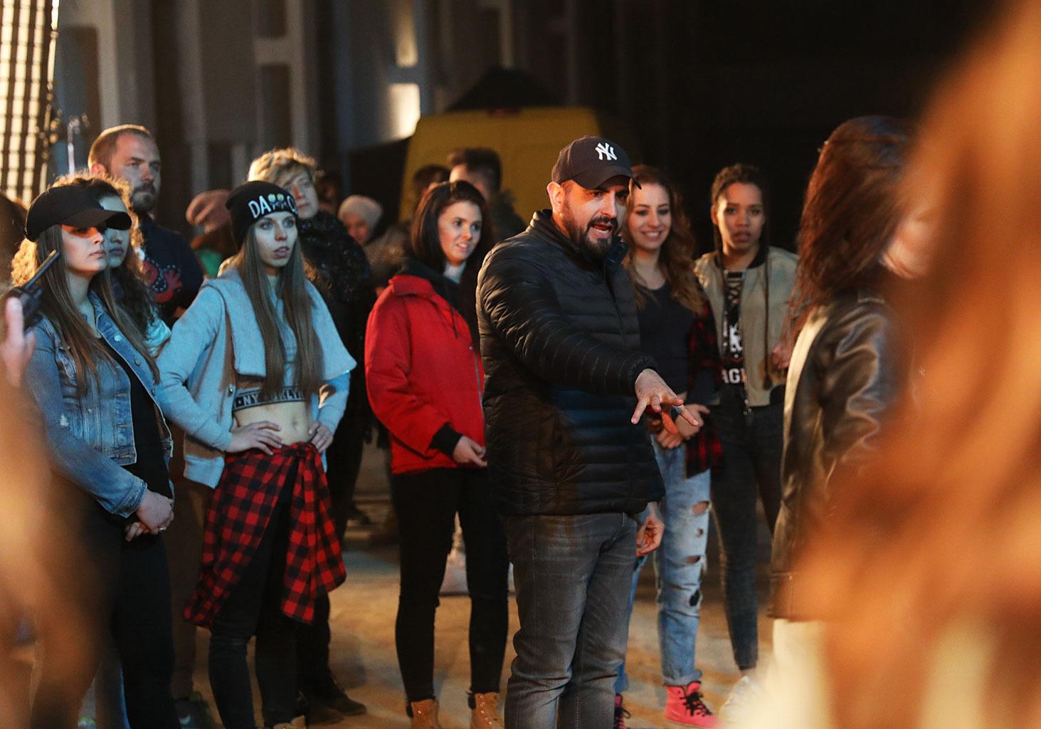 Agustin Egurrola na planie teledysku do piosenki Kayah Po co (5).JPG